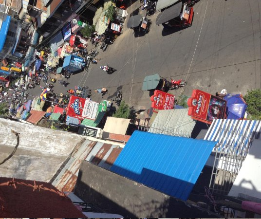 The Local - Riverside: View from penthouse of street