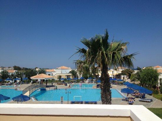 Neptune Hotels - Resort, Convention Centre & Spa: Blick vom Zimmer 5121