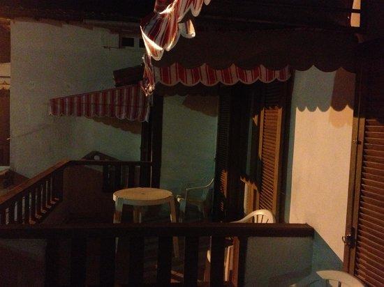 Casa das Rosas: Balcony