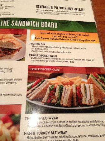 Menu Picture Of Perkins Restaurant Bakery Wisconsin Dells Tripadvisor