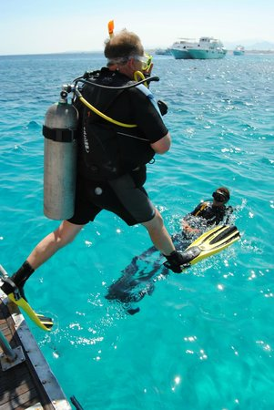Blue Lagoon Diving Center: The First Leap of Faith !!