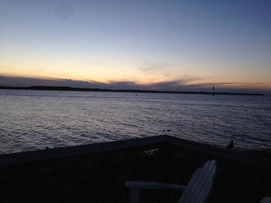Cedar Point's Lighthouse Point : View off the deck from our cottage