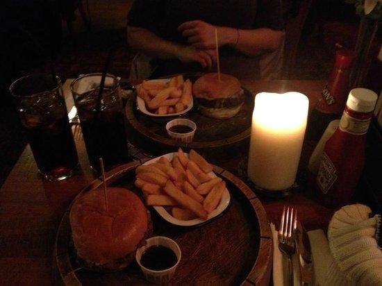 Shakespeare Tavern : hamburger