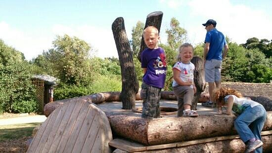 Upton Country Park: part of the playtrail