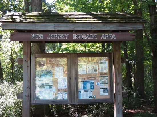 Jockey Hollow: Trail Head