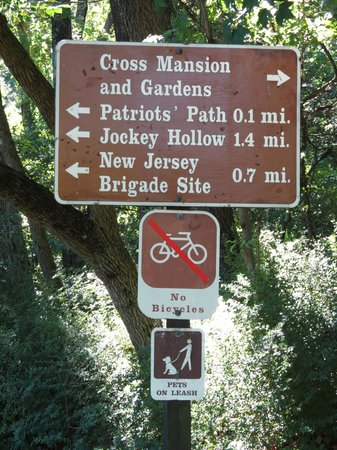 Jockey Hollow: Trail Sign