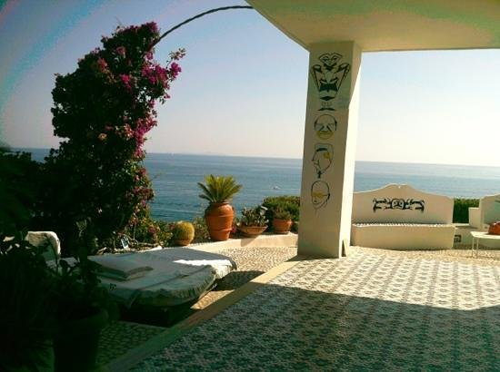 Isola di Eea: terrazza