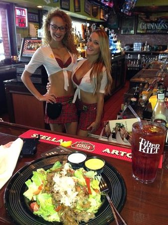 Tilted Kilt Pub & Eatery: What an awesome steak salad!