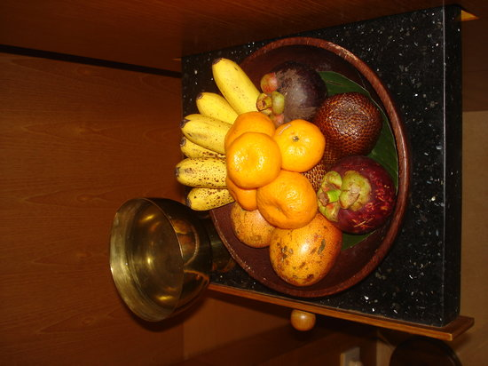 Amanjiwo Resorts: Amanjiwo's welcome exotic fruit basket