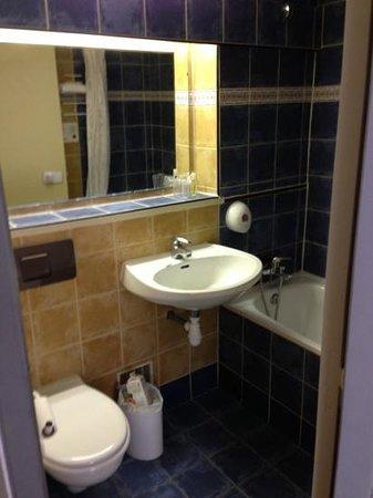 Brit Hotel Bosquet Carcassonne: salle de bain