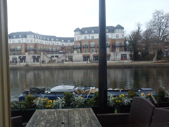 The Swan Hotel: View from our Table