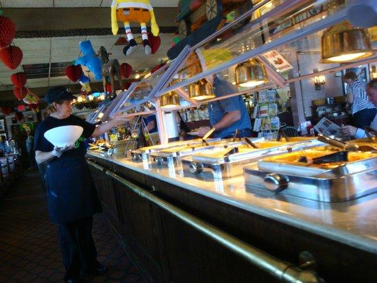 Big Boy: Breakfast & Salad Bar