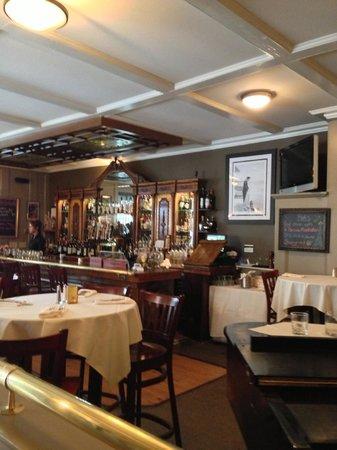 Rudi's Portsmouth: Bar area