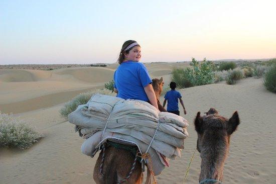 Hotel Nirmal Haveli: Camel safari to spend night under the stars in dunes