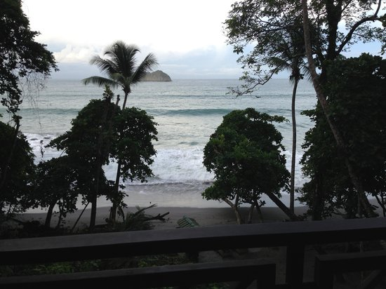 Arenas del Mar Beachfront and Rainforest Resort, Manuel Antonio, Costa Rica: View from our patio