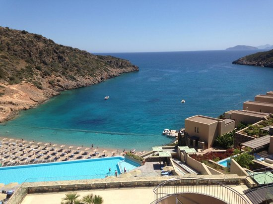Daios Cove Luxury Resort & Villas: Beach View