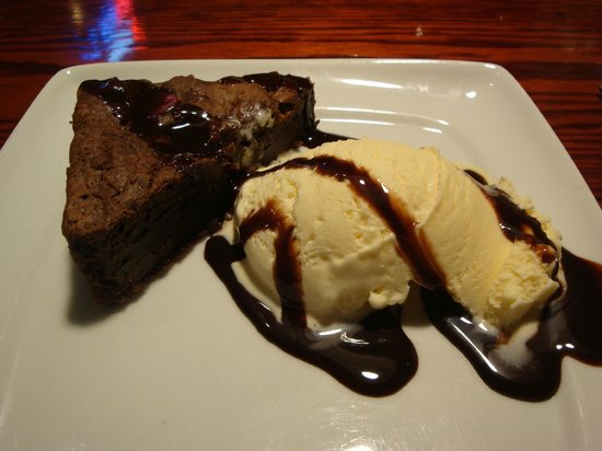 Red Lobster: Brownie & Ice Cream
