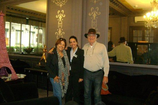 Hotel Prince Albert Louvre : Sala de convivência e recepção
