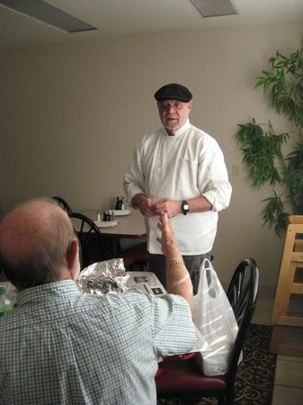 Garibaldi House Inn & Suites: Our host , owner, chef ..and manager extraordinaire'