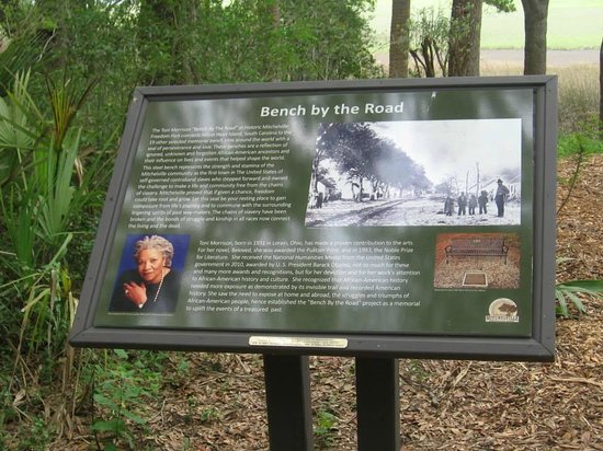 Gullah Heritage Trail Tours: The Bench By the Road-Toni Morrison
