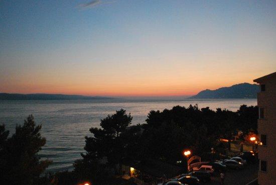 Aparthotel Milenij: View from the balcony