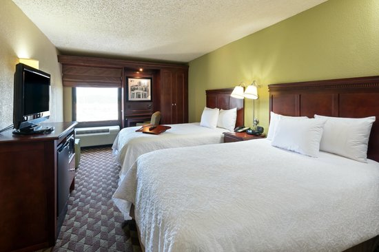 Hampton Inn Baton Rouge I-10 & College Dr.: Double bedded guestroom