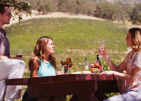 Calistoga, CA: Tasting in the vineyards