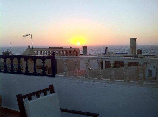 Riad Al Khansaa : Vue de la terrasse.