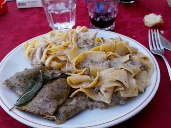 Locanda San Martino: tris di paste strepitoso!!