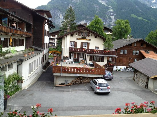 Hotel Alte Post: view