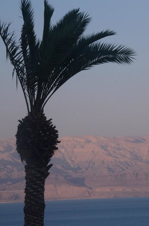 Ein Gedi - Beit Sarah Guest House: Sunset view from Beit Sarah Guest House room