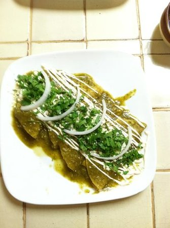 Fiesta Mexicana : enchiladas: spicy, made to order and delicious!