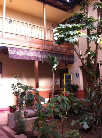 Sumayaq Hostel Cusco: the internal courtyard