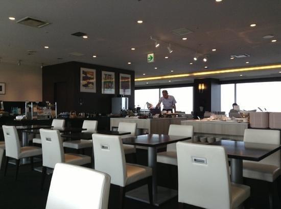 Mitsui Garden Hotel Hiroshima : restaurant