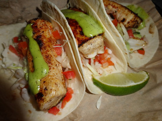 Delicious fish tacos picture of joe 39 s crab shack for Best fish tacos nyc