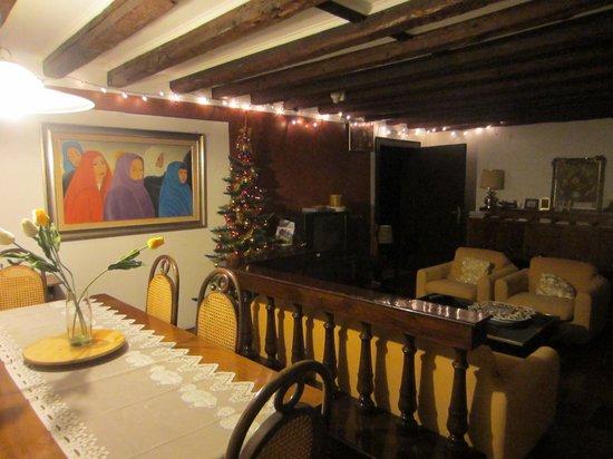 B&B San Giacomo Venezia : Salón y recibidor