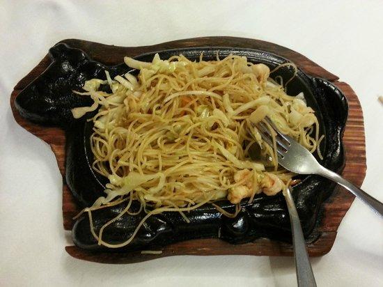 Ristorante Nuova Hong Kong : Spaghetti alla piastra
