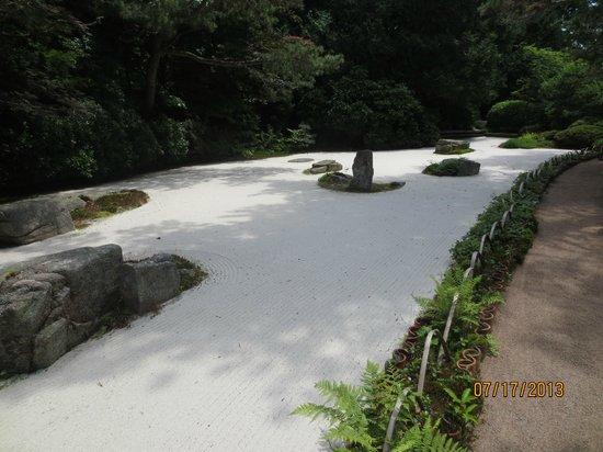 Asticou Azalea Garden: sculpture garden