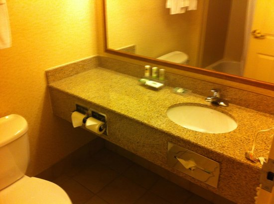 Country Inn & Suites By Carlson, Bentonville South: Gleaming sink area