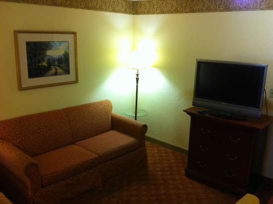Country Inn & Suites By Carlson, Bentonville South: Sitting area in suite