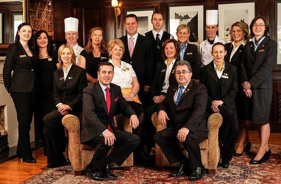 Ballygarry House Hotel & Spa : Hotel Staff