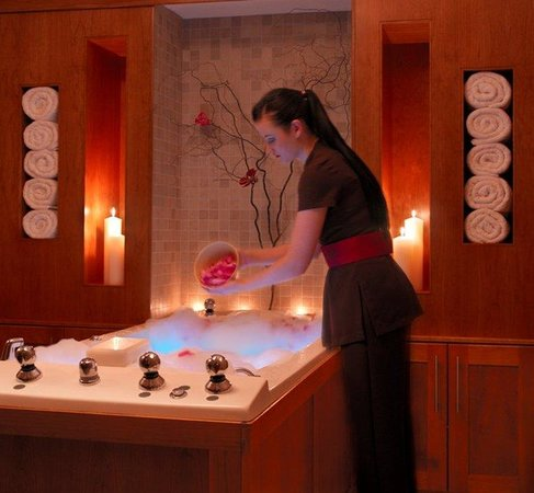 Ballygarry House Hotel & Spa : Hydro Bath Model