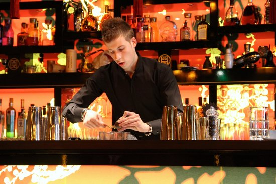 Buddha-Bar Hotel Paris: Bar