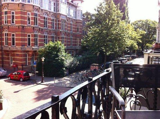 Hotel Vondel : balcony Jr Suite