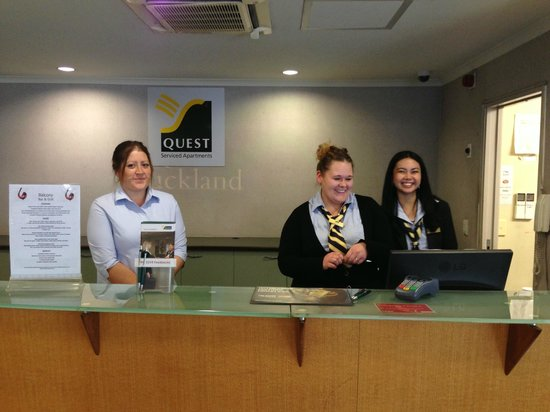 Quest Auckland Serviced Apartments: Miles of smiles, and precision service to match