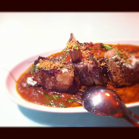 Traditional Thai : Penang curry of beef ribs
