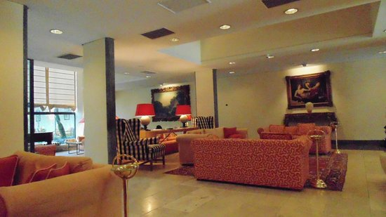Grand Hotel Minerva: Lobby view