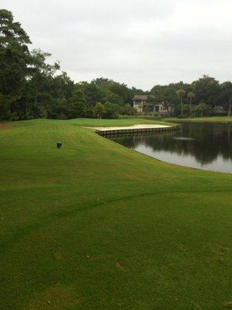 Arthur Hills Golf Course: Par three No. 3