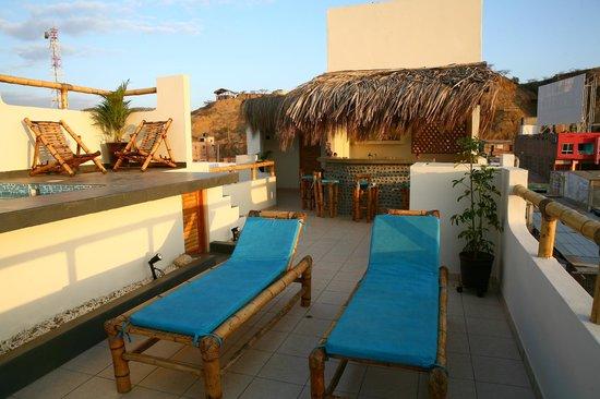 An'Anasha Hotel : Terraza / Terrace
