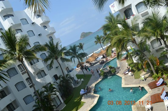 Ramada Resort Mazatlan: Vista de la habitacion 415